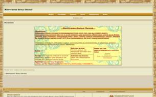Скриншот сайта Жемчужина белых песков