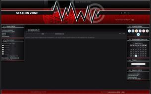 Скриншот сайта Station zone