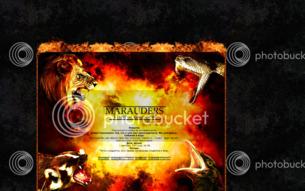 Скриншот сайта Гарри Поттер. Последняя битва.