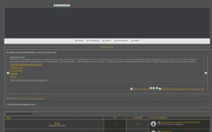 Скриншот сайта Под знамением пророчества
