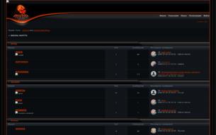 """Скриншот сайта Школа """"Наруто"""""""