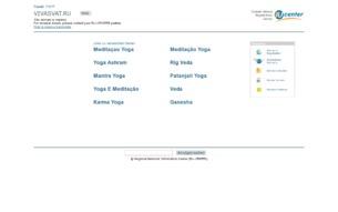 Скриншот сайта Вивасват - Перекресток Эпох