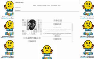Скриншот сайта Cube Stay alive