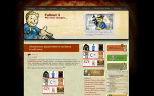 Скриншот сайта 3Fallout.ru