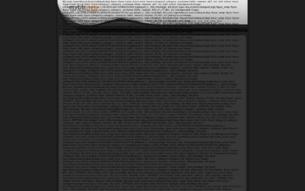 Скриншот сайта Наруто в будущим