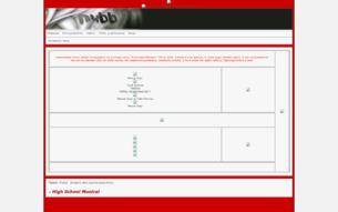 Скриншот сайта Классный Мюзикл