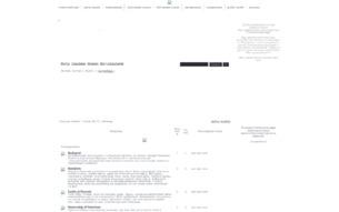 Скриншот сайта Готический мир