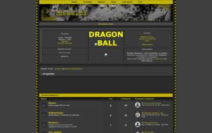 Скриншот сайта DragonBall