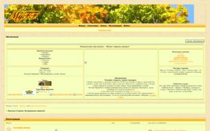 Скриншот сайта Волчья Страна: вторжение нежити!