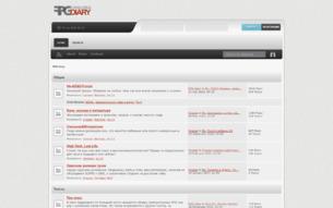 Скриншот сайта RPG diary
