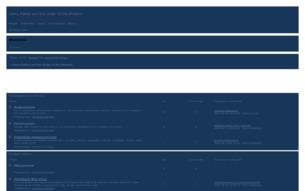 Скриншот сайта Хогвартс - Новое поколение!