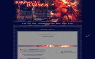 Скриншот сайта Hohgwartus Flammeus