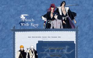 Скриншот сайта Ролевая по аниме Bleach «Белый король»