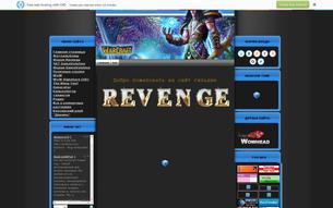 Скриншот сайта Revenge Guild