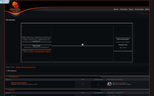 Скриншот сайта RPG: Наруто