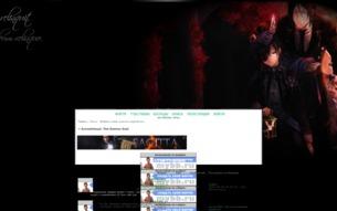Скриншот сайта Kuroshitsuji: the demon seal