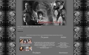 Скриншот сайта Supernatural. Forever