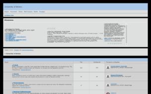 Скриншот сайта University of Bristol