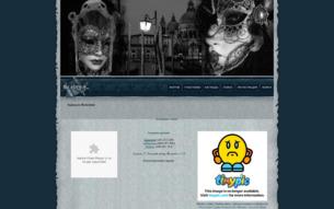 Скриншот сайта Зеркало Венеции