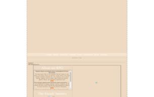 Скриншот сайта Коты-Воители. Цветы жизни