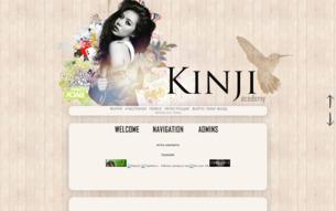 Скриншот сайта Академия Кинджи
