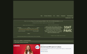"""Скриншот сайта СРИ """"Мир"""""""