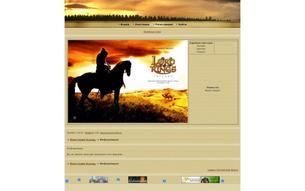 Скриншот сайта Властелин Колец