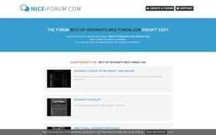 Скриншот сайта Анти-Хогвартс (Хогвартс наоборот)