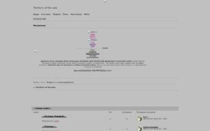 Скриншот сайта Территория страха
