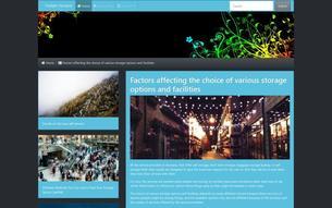 Скриншот сайта In the twilight