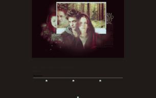 Скриншот сайта Twilight - a life