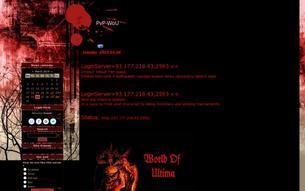 Скриншот сайта PvP-WoU