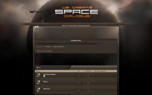 """Скриншот сайта Вселеная """"One Geim"""""""