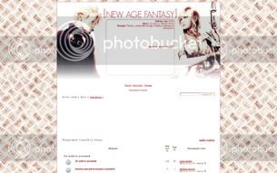 Скриншот сайта Фантазия новой эры