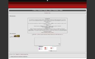 Скриншот сайта Ветер вечности - галопом в пропасть