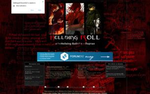 Скриншот сайта Hellsingroll