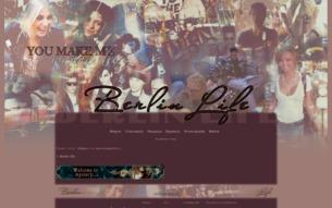 Скриншот сайта Berlin life