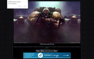 Скриншот сайта FRPG Endless war