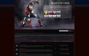 "Скриншот сайта FRPG ""X-nation"""