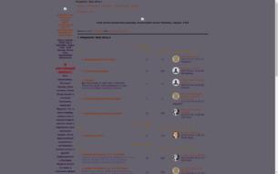 Скриншот сайта 1000 летие Хогвартса