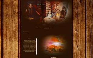 Скриншот сайта Весь магический мир Тани Гроттер