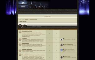 Скриншот сайта Бухай, Поттер!