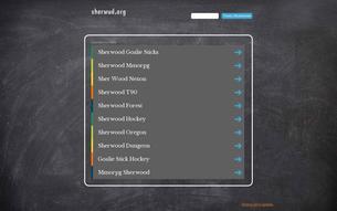 Скриншот сайта МГ Шервуд