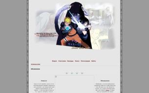 Скриншот сайта Naruto - Shinobi Sekai Senso