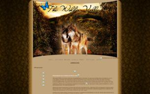 Скриншот сайта Волчья долина