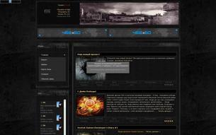 Скриншот сайта Worldof-stalker - мир Сталкер