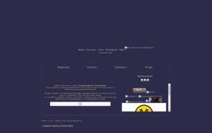 Скриншот сайта Sengoku Basara: school wars