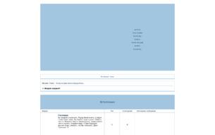 Скриншот сайта Волчьи истории