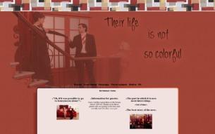 Скриншот сайта High school musical - love is not a big city