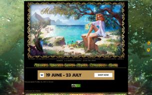 Скриншот сайта Мистерия